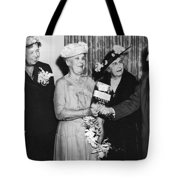 White House Memoirs Tote Bag