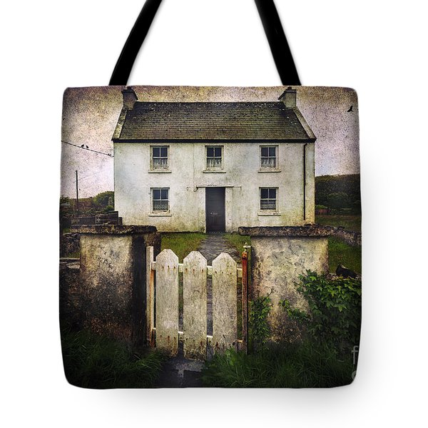 White House Of Aran Island Tote Bag by Craig J Satterlee