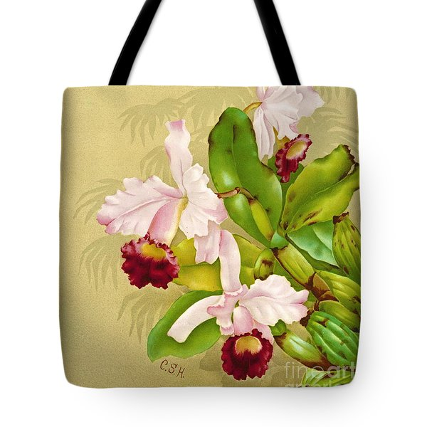 White House Orchid 1892 Tote Bag by Padre Art
