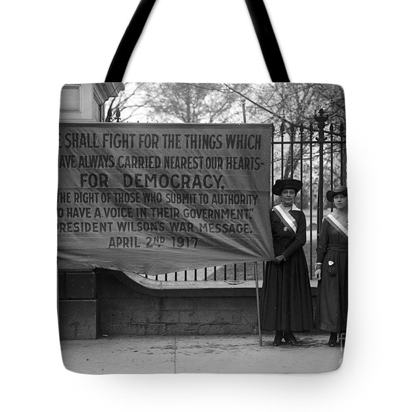 White House: Suffragettes Tote Bag by Granger