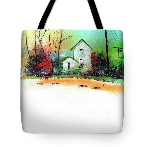 White Houses Tote Bag