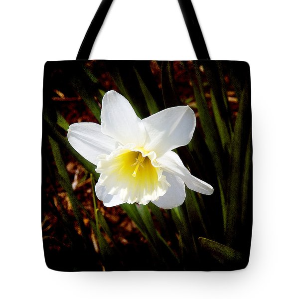 White In Nature Tote Bag