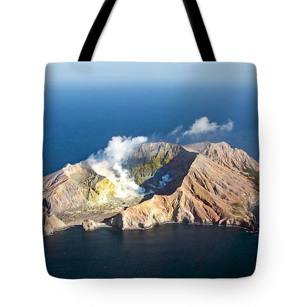White Island Tote Bag