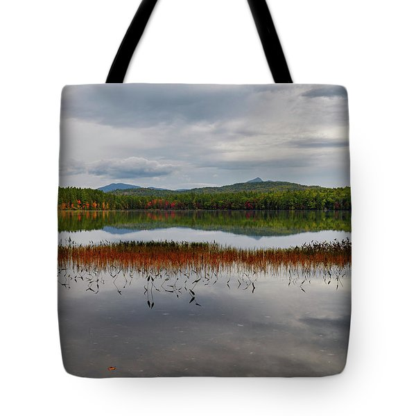 Tote Bag featuring the photograph White Lake Fall Chocorua Nh by Michael Hubley