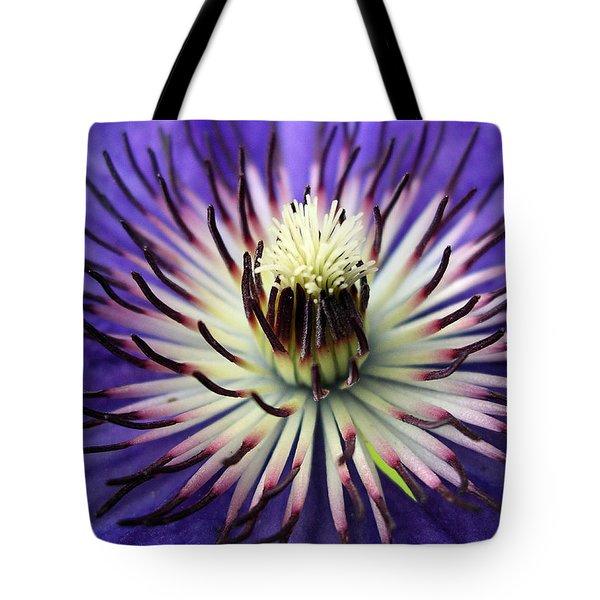 White-lilac Flower Tote Bag