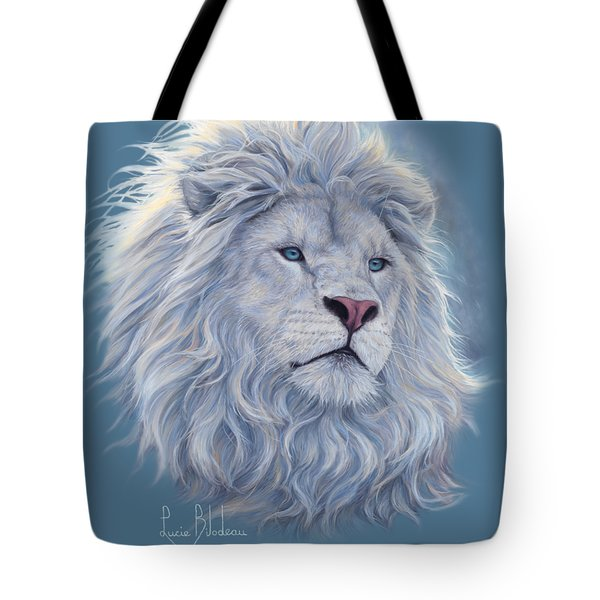White Lion Tote Bag