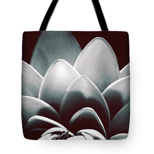 White Lotus At Dawn Tote Bag
