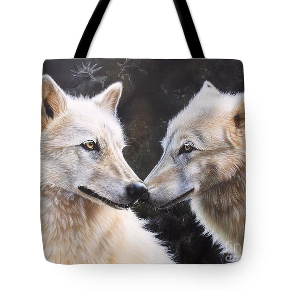 White Magic Tote Bag