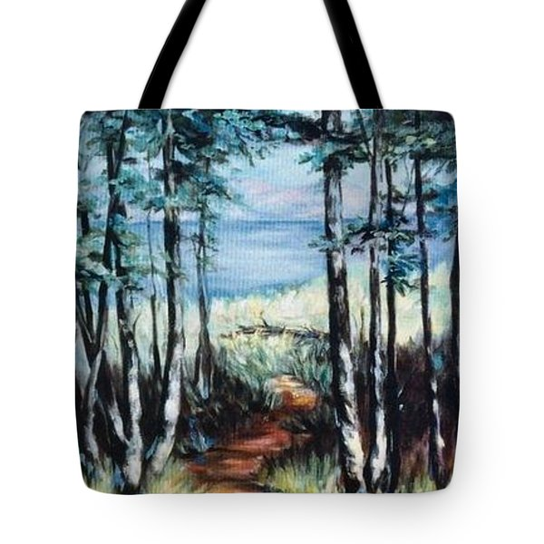 White Mountain Forest Tote Bag
