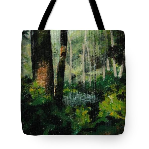 White Mountain Woods Tote Bag