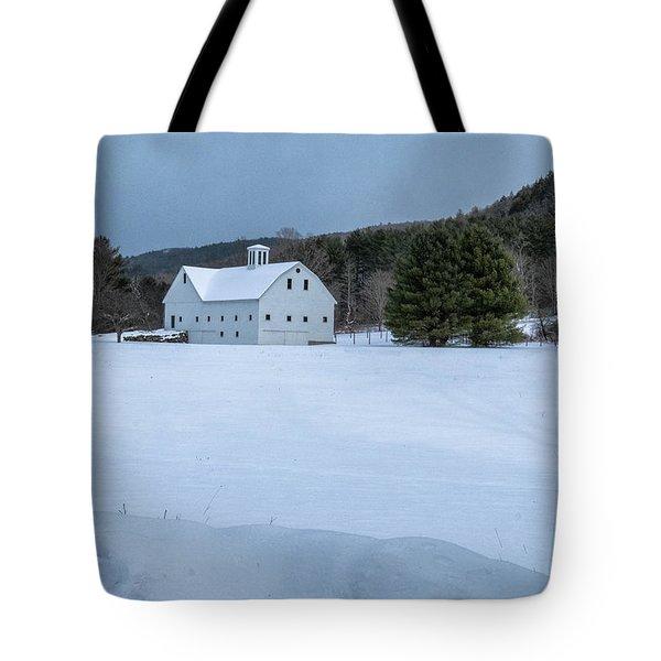 White On White Tote Bag