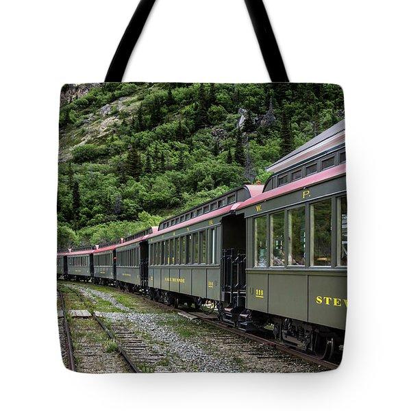 White Pass And Yukon Railway Tote Bag