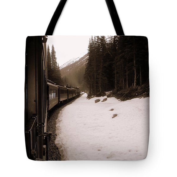 White Pass Railway Tote Bag