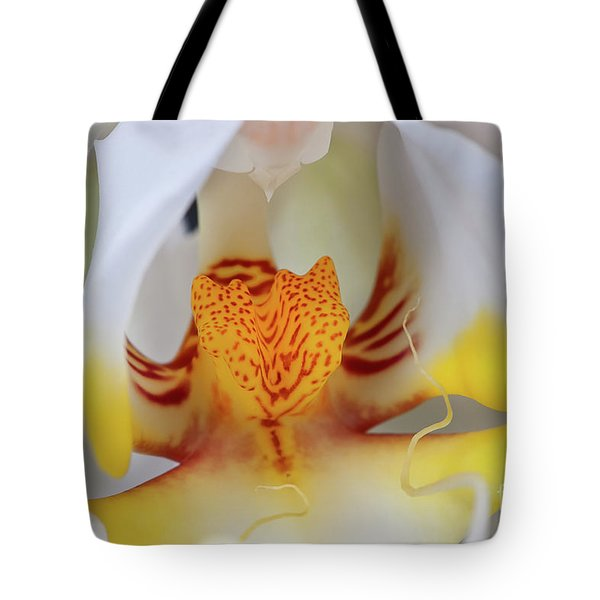 White Phalaenopsis Orchid 2 Tote Bag