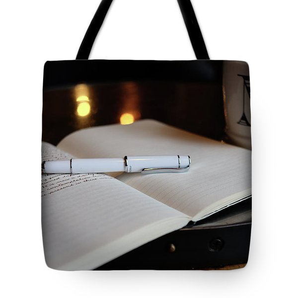 Tote Bag featuring the photograph White Pilot Prera by Monte Stevens