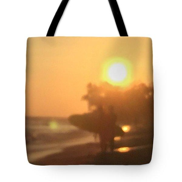 White Plains Beach Tote Bag