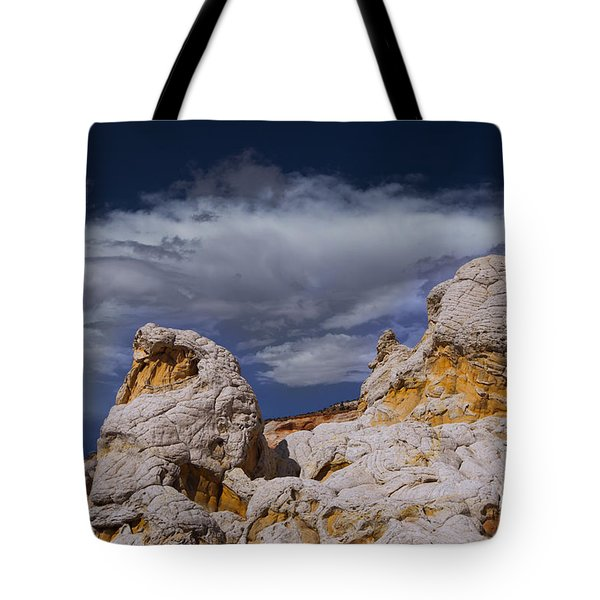 Tote Bag featuring the photograph White Pocket Alien by Keith Kapple