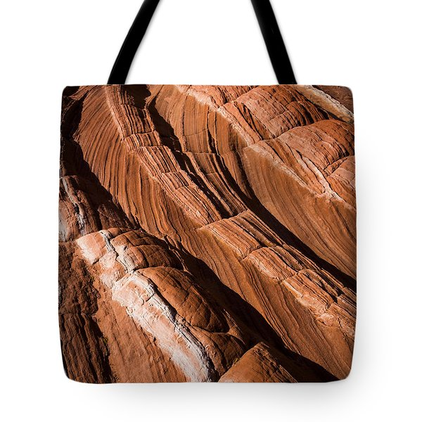 Tote Bag featuring the photograph White Pocket Arizona by Keith Kapple