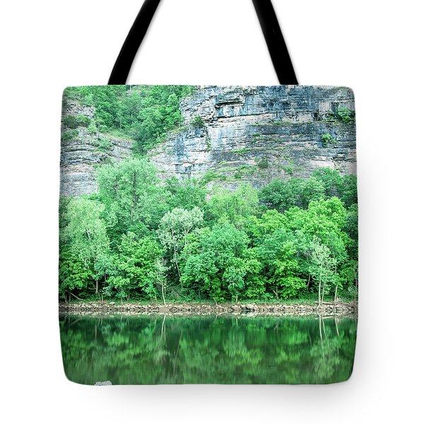 White River, Arkansas 4 Tote Bag