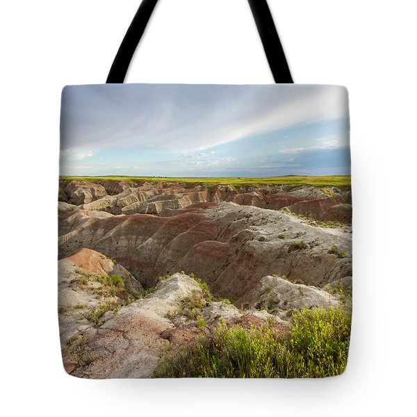 White River Valley Badlands Tote Bag