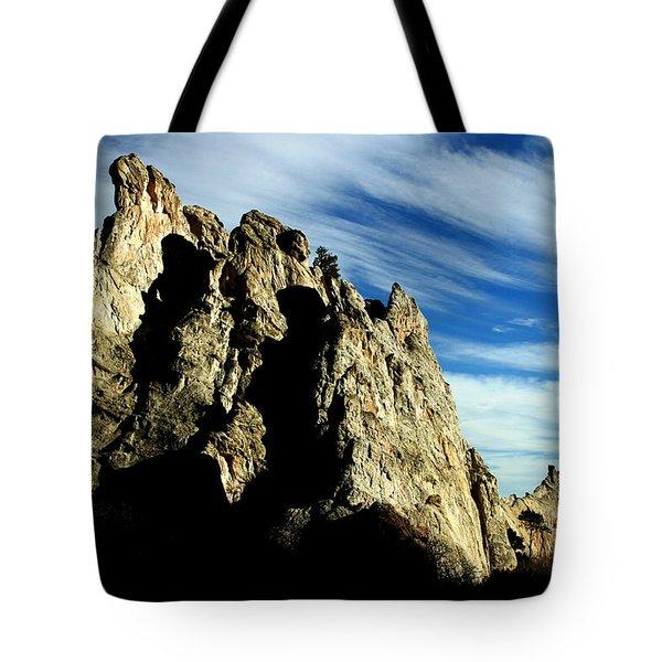 White Rocks Tote Bag by Anthony Jones