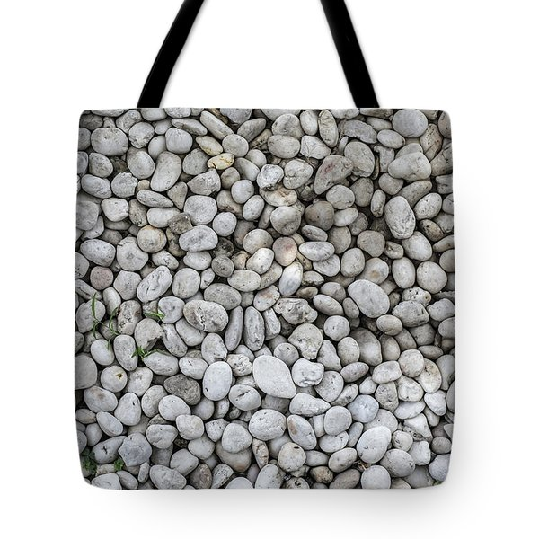 Tote Bag featuring the photograph White Rocks Field by Jingjits Photography