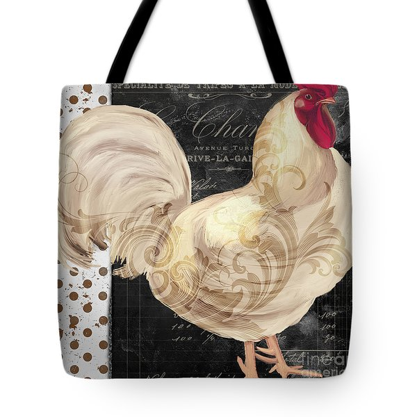 White Rooster Cafe I Tote Bag