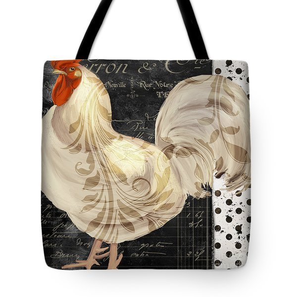 White Rooster Cafe II Tote Bag