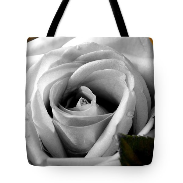 White Rose 2 Tote Bag
