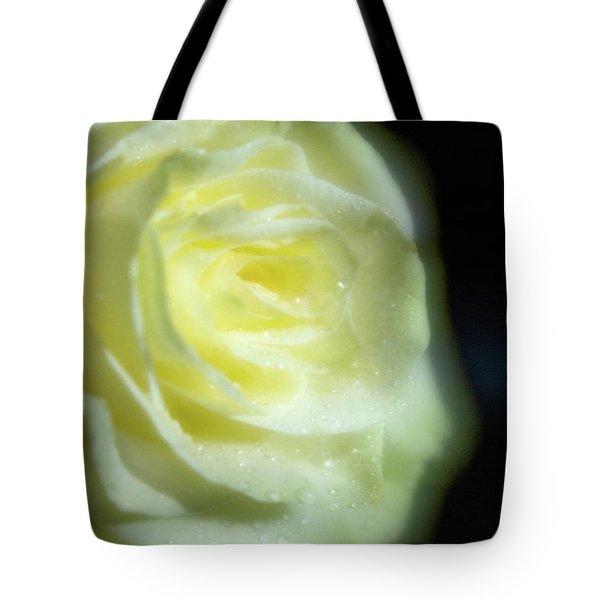 White Rose 4 Soft Tote Bag