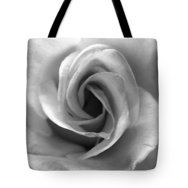 White Rose Tote Bag by Beverly Johnson