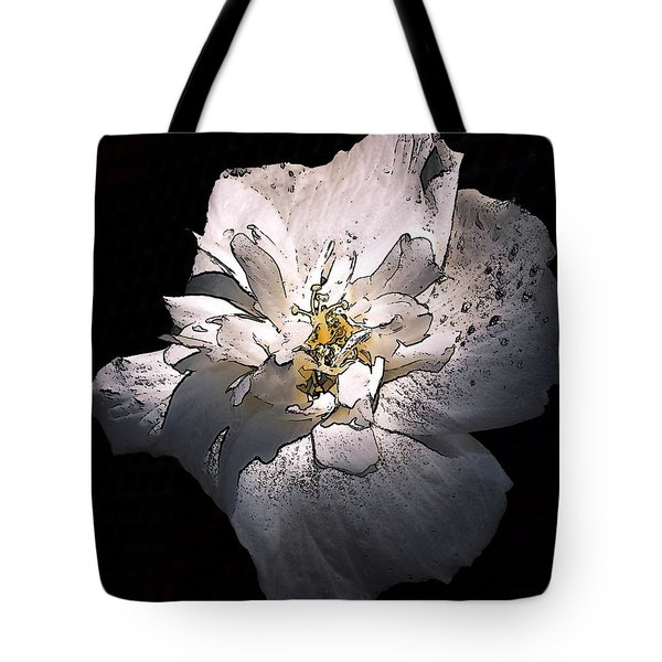 White Rose Of Sharon Tote Bag