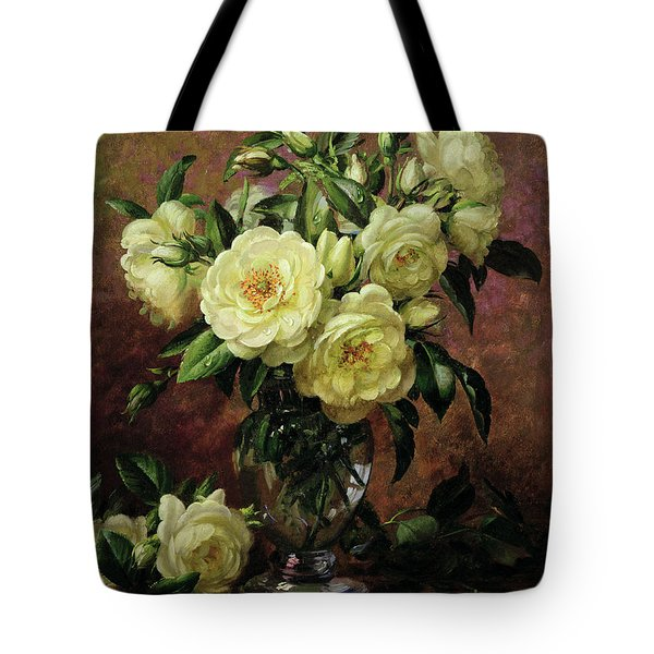 White Roses - A Gift From The Heart Tote Bag
