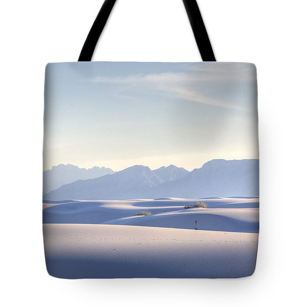 White Sands Blue Sky Tote Bag
