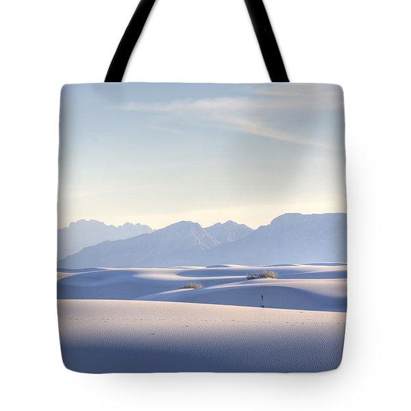 White Sands Blue Sky Tote Bag