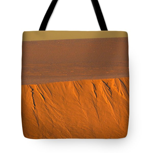 White Sands Dawn #12 Tote Bag by Cindy McIntyre