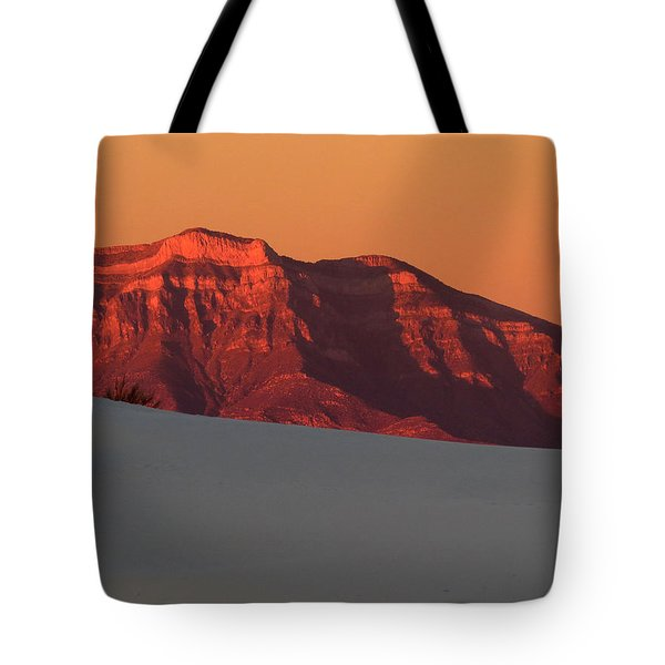 White Sands Dawn #2 Tote Bag by Cindy McIntyre