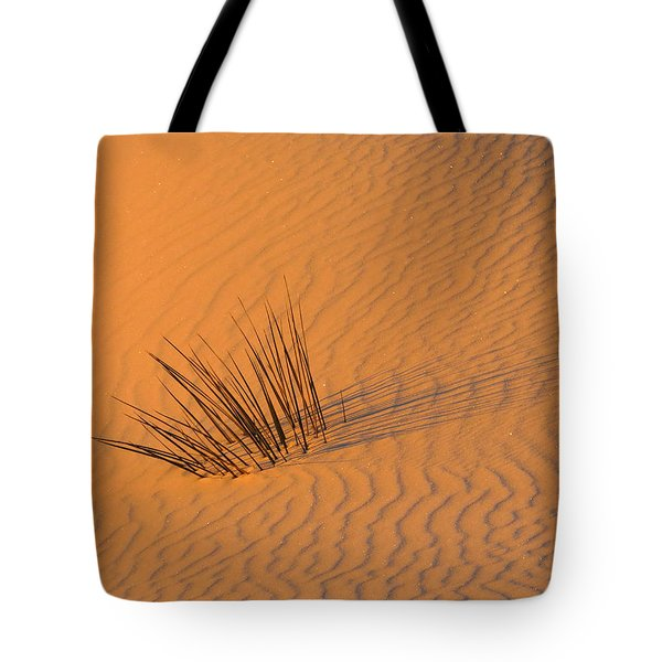 White Sands Dawn #20 Tote Bag by Cindy McIntyre