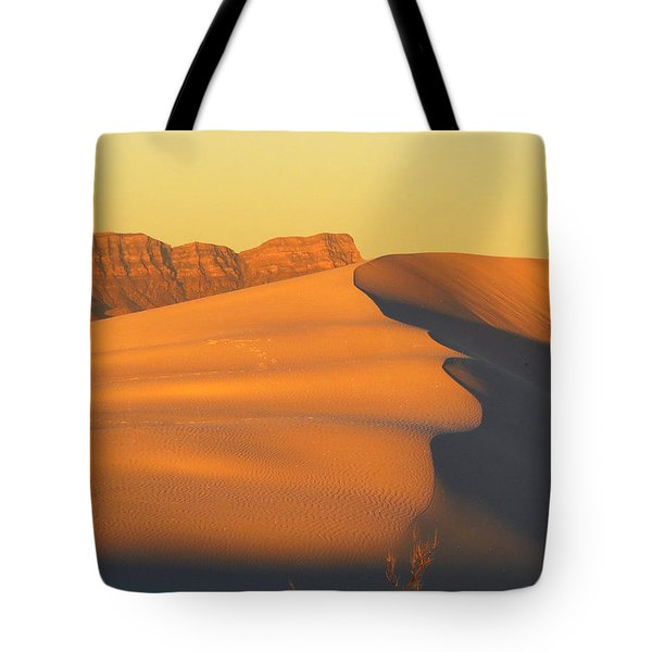 White Sands Dawn #33 Tote Bag by Cindy McIntyre