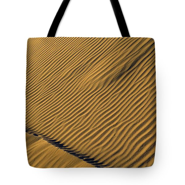 White Sands Dawn #60 Tote Bag by Cindy McIntyre