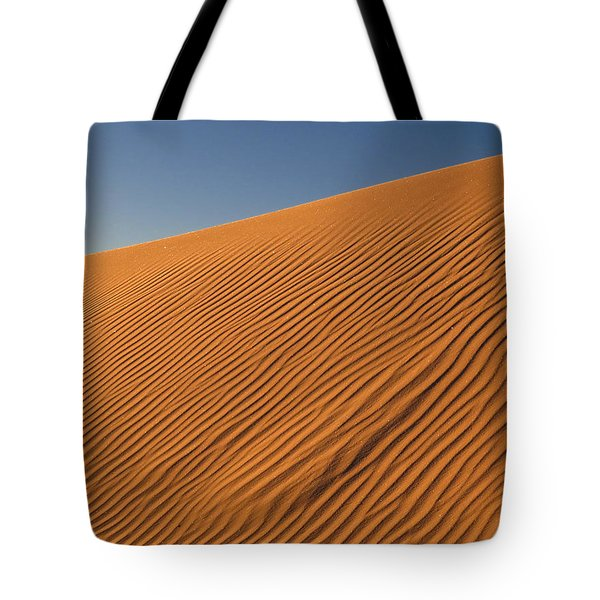 White Sands Dawn #61 Tote Bag by Cindy McIntyre