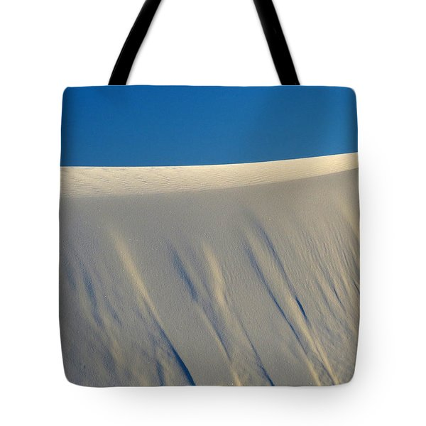 White Sands Dawn #65 Tote Bag by Cindy McIntyre