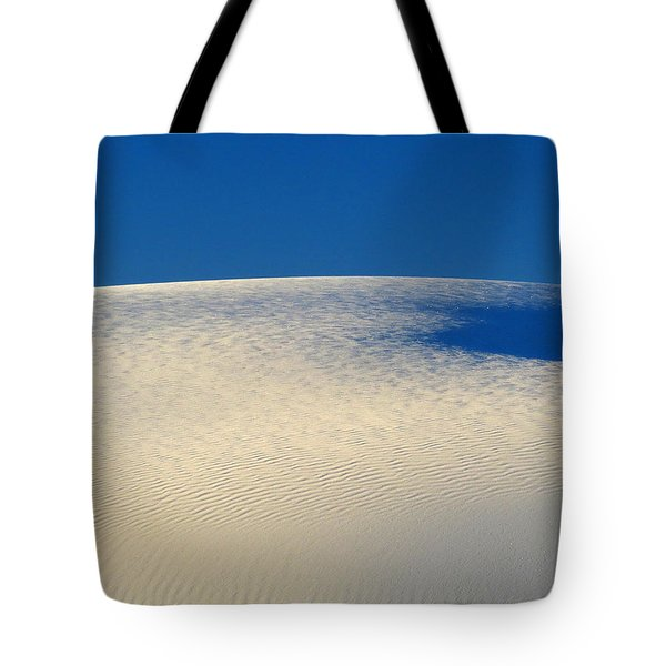 White Sands Dawn #68 Tote Bag by Cindy McIntyre