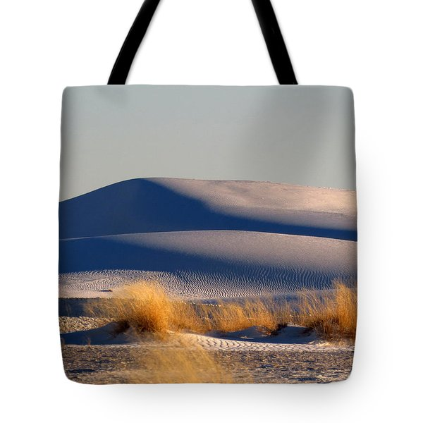 White Sands Evening #11 Tote Bag