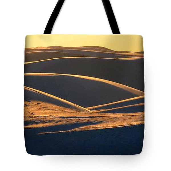 White Sands Evening #32 Tote Bag by Cindy McIntyre