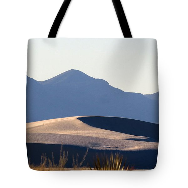 White Sands Evening #5 Tote Bag by Cindy McIntyre