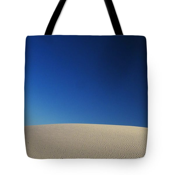 White Sands Evening #8 Tote Bag by Cindy McIntyre