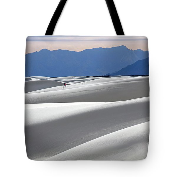 White Sands Hikers Tote Bag