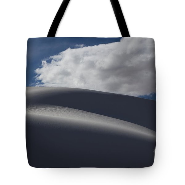 White Sands National Monument Tote Bag by Keith Kapple