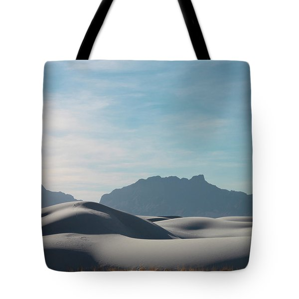 Tote Bag featuring the painting White Sands Natural Anatomy  by Jack Pumphrey